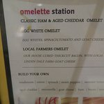 Creative omelet options