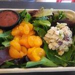Cranberry chicken mini salad