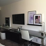 Harrah's newly renovated rooms. Modern and fresh.