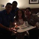 Excelente hotel mi hija cumplió años en el ahí y el equipo Marriott le llevaron galletas, torta
