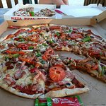 Barbecues pizza