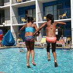 Jumping for Joy @Sea Hawk Motel in Ocean City !