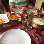 Chicken Tikka und Lamm Curry