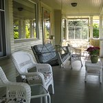 Relax on the front porch and enjoy the Mt. Adams and Hood River Views.
