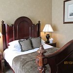 this was a very comfortable bed. and the room was beautiful,