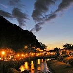 Sunset at Lynmouth!