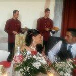 Pranzo matrimonio in sala  Gaia
