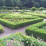 The gardens (there are several area) are beautiful and formal.