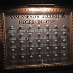 Balls from Sam Snead's 35 Holes-in-One