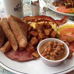 Breakfast special - yum!