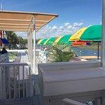 Enjoy our spacious back deck!