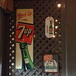 7up signs.