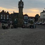 Market Square Thirsk town centre