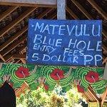 Photo de Matevulu Blue Hole