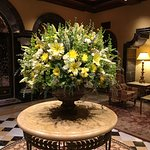 Fresh Floral Arrangement in the Lobby