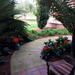 The Lanai Outside My Room