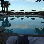 Breakfast poolside