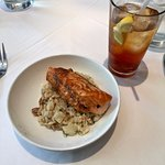Salmon at lunch