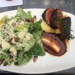 Steak and caesar