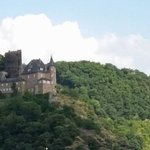 Just one of many neautiful castles on the way