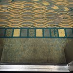 carpet leaving the elevator to the 3rd floor