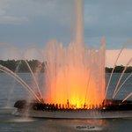 Peace Fountain at Night