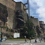 Auf dem Vorplatz zur Festung Königstein