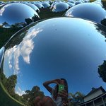 mirror balls!