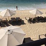 Private beach area...