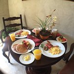 Room service for breakfast was very good!