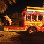 The KuKoo KununKo Bus. This is the Bar Crawl Bus. Young or old you're going to have a great time