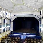 vista do palco