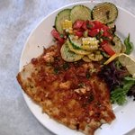 Trout Schnitzel - what is better than trout?