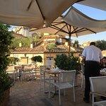 upstairs dining al fresco