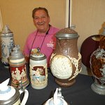 Hotel hosted stein sales and auctions.