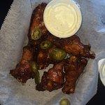Jamanican Jerk wings