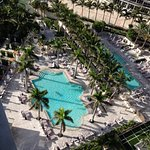The grounds at St Regis Bal Harbor