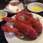 Twin lobsters!