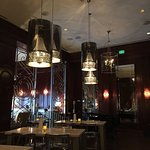 Beautiful atmosphere. Had dinner at the bar, great service!  Enjoyed salad, wild mushrooms with