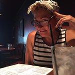 Wifey pondering menu