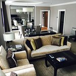 Spacious two bedroom suite.