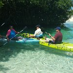 The kayak adventure was so fun, we laughed so much as we were traying to learn to go straight!