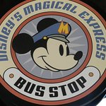 Shuttle bus sign
