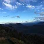 View from Balcony of Blue Mountains
