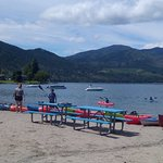 Beach at Lake Chelan on Wapato Pt.