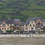 Cruising down the Rhine River below Amsterdam