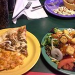 Pizza Inn Buffet and Salad bar complete with pasta ans spaghetti...awesome place for a family ou
