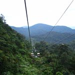 Cable car ride to Genting Highlands.