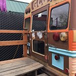 The Alberta Grill Cheese Grill school bus.