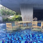 One of the pool's super nice corner